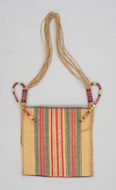 Raffia bag. Bamessing or Meta. Collection Detail | Textile Museum of Canada Collection and Exhibitions