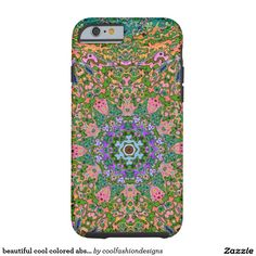 beautiful cool colored abstract tough iPhone 6 case