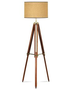 Pacific Coast Floor Lamp, Tripod - Lighting & Lamps - for the home - Macy's Bridal and Wedding Registry