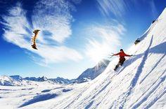 Snow Kiting in Iceland. Yeeees!