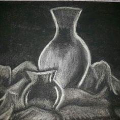 Charcoal work