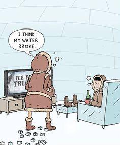 Honey I Think My Water Broke   ---- hilarious jokes funny pictures walmart fails meme humor