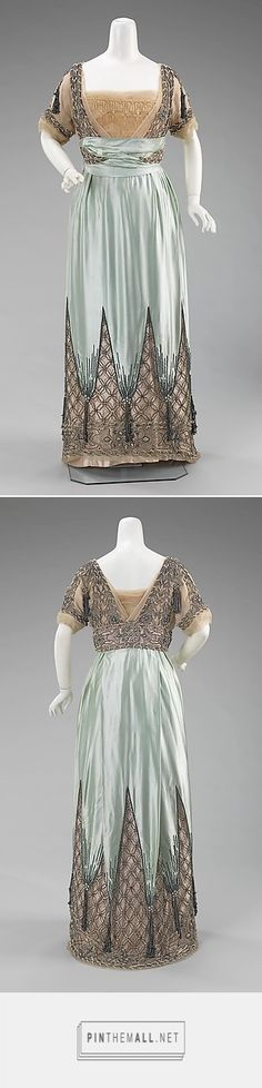 Evening dress by House of Worth ca. 1910 French | The Metropolitan Museum of Art