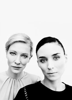 Rooney Mara and Cate Blanchett by Chris Floyd
