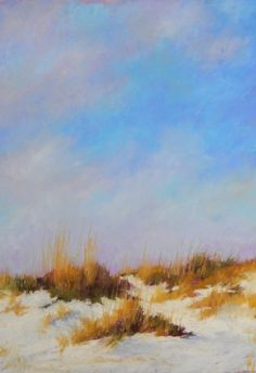 """16 x 20 Pastel on sanded paper.''Carolina Dunes"""" by Beth Williams SOLD"""