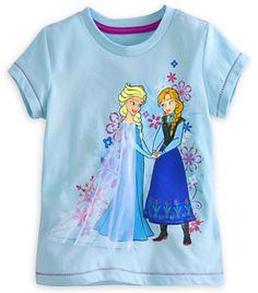 Anna and Elsa Tee
