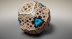 Virtual Fabergé Fractals Inspired by Geometry by Tom Beddard. Edinburgh-based physicist-turned-web-designer Tom Beddard was inspired by geometry to create Art Fractal, Fractal Design, Frank Stella, Math Art, 3d Prints, Art Object, Sacred Geometry, Fractal Geometry, Graphic Design Illustration