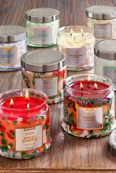 The NEW PartyLite - 20 new scents, all-new jar! Homemade Candles, Diy Candles, Candle Wax, Scented Candles, Custom Candles, Jar Candle, Bougie Partylite, Candles For Sale, Candle Packaging
