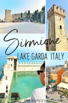 Sirmione Castle Lake Garda Italy - Lago di Garda, Blue Lagoon, 13th Century Castle   travel blog tips, destinations, quotes, italy, bucket list, photography, packing, use, hacks, accessories, journal, outfit, cheap, europe, places