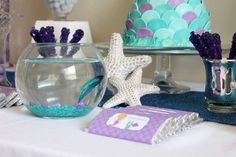 Mermaid Birthday Party Ideas | Photo 1 of 16 | Catch My Party