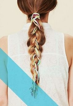 Braided Hairstyles: Pinterest Inspiration For Dressing Up a Ponytail | Beauty High