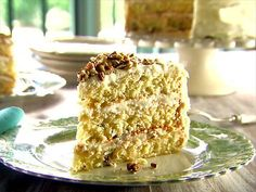 Trisha's Italian Cream Cake Video : Food Network - FoodNetwork.com