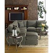"Doss Fabric Microfiber Sectional Sofa, 3 Piece (Right Arm Facing Loveseat, Left Arm Facing Loveseat and Corner Unit) 104""W x 104""D x 37""H"
