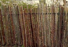 MIN VILLAHAGE: Gjerde av greiner
