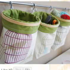 Sewing Storage Ideas | Sewing Ideas and Techniques