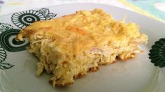 Torta de frango Dukan