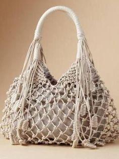 Resultado de imagen para macrame handbags