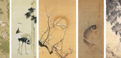 Sumi-e Atölyesi -Sumi-e Grubu- Japon Mürekkep resmi çalışmaları