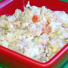 Polish Shrimp Salad or Salatka z Krewetek - © 2010 Barbara Rolek licensed to About.com, Inc.