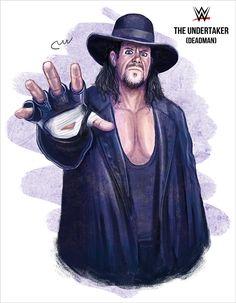 WWE The Undertaker (Deadman) by baguettepang.deviantart.com on @DeviantArt
