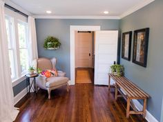 Find the best of HGTV's Fixer Upper With Chip and Joanna Gaines from HGTV  I like the door, woodwork, & flooring.