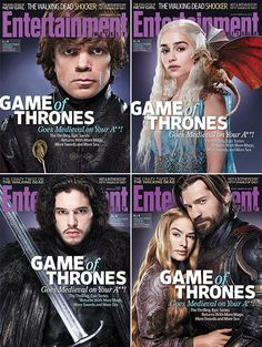 Games of Thrones Entertainment Weekly Covers
