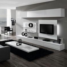 12 meilleures images du tableau meuble tv blanc laqué | Lounges ...