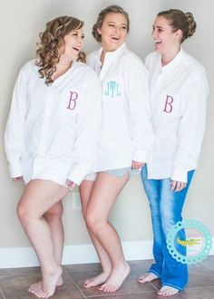SALE Bride and Bridesmaids Oversized by sassygatormonograms