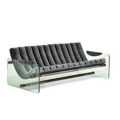 FABIO LENCI (Attr.) Sofa - Price Estimate: $5000 - $7000