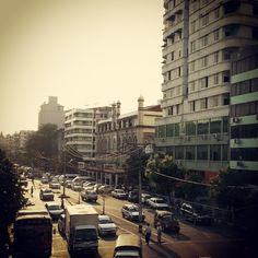 Peak hour, Yangon, Myanmar #wayfairer #way_fairer