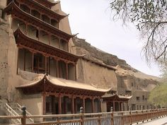 "This summer I'm going to the Mogao Caves in the old Silk Road town of Dunhuang.  I'm so excited!    ""Locked away in the heart of the Gobi desert, four days' camel ride from the nearest town, lies one of the least-known of China's many wonders, the 'Caves of the Thousand Buddhas' at Tun-Huang.  Here, carved in irregular rows into the cliff face and filled with magnificent wall-painting and sculptures, are...  Expand this post »"