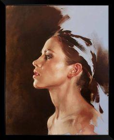 """Pictify"" by Jeremy Mann #women #figurative #painting"