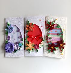 Easter handmade cards Quilling Cards, Facebook Sign Up, Handmade Cards, Easter, Crochet, Craft Cards, Easter Activities, Ganchillo, Diy Cards