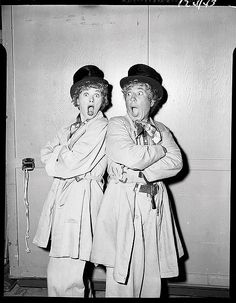 Lucy and Harpo Marx   Flickr - Photo Sharing!