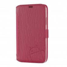 Custodia Galaxy Note 3 Cruzerlite - Bugdroid Circuit Intelligent Wallet Pink - Snow  € 19,99