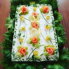 Fruit And Vegetable Carving, Food Art, Pineapple, Entertainment, Vegetables, Drinks, Cooking, Desserts, Fine Dining
