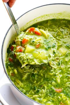 This Aguadito De Pollo (Peruvian Chicken Soup) recipe is easy to make, and full of the best fresh and delicious flavors, including lots and lots of cilantro! Peruvian Dishes, Peruvian Cuisine, Peruvian Recipes, Comida Latina, Mexican Food Recipes, Dinner Recipes, Ethnic Recipes, Chicken Soup Recipes, Chicken Rice