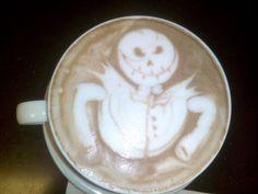 Café Barista #ArtLatte #coffee #Jack