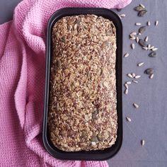 Norwegian Health Bread – The Cooking Spoon Millet Bread, Buckwheat Bread, Bread Recipes, Baking Recipes, Whole Food Recipes, Amish Recipes, Dutch Recipes, Healthy Recipes, Seed Bread