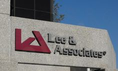 Lee and Associates Outdoor Building Sign Anaheim CA