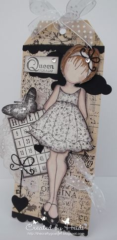Ali-Craft Blog: Prima Mixed Media Doll Project by Heidi