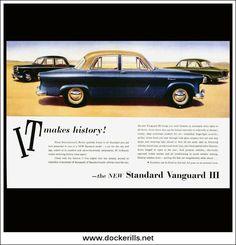 Original Vintage Advert From October Vintage Auto, Vintage Cars, Triumph Car, British Sports Cars, Print Advertising, Magazine Art, Brochures, Sport Cars, Old Cars