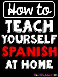 How to teach yourself Spanish at home with awesome workbook and book suggestions to help you learn Spanish fast Spanish Phrases, Spanish Vocabulary, Spanish Words, How To Speak Spanish, Learn Spanish, Learn French, Learning A Second Language, German Language Learning, Learn A New Language