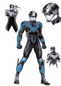 Nightwing, Batgirl, Catwoman, Batman Et Superman, The New Batman, Batman Comics, Batman Ninja, Otto Schmidt, Harley Quinn