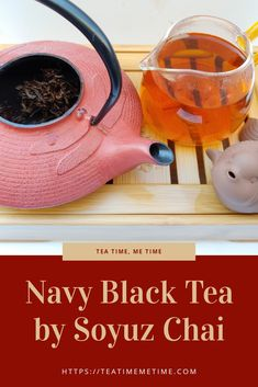 My first sip of Navy was sweet and fruity with hints of plums and apricots. Types Of Tea, Burnt Orange Color, Tea Cakes, Chai, No Time For Me, Tea Time, Brewing, Tea Pots, Tea Types