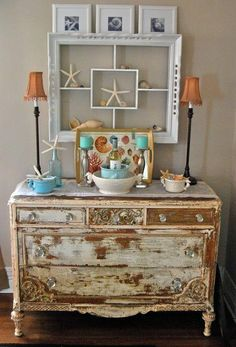 Vintage Beach Decorating Ideas lots of good decorating ideas on this site. | for the home