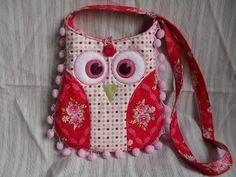Nevart: Bolso buho de patchwork para niñas