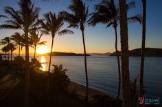 Sunrise on Daydream Island - Queensland, Australia