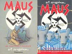 Graphic Novel: Maus I & II - The famous graphic novel about the Holocaust with the Jewish people drawn as mice, and their Nazi persecutors as cats.
