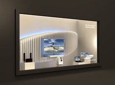 Samsung Led Tv Disolay Stand Exhibition